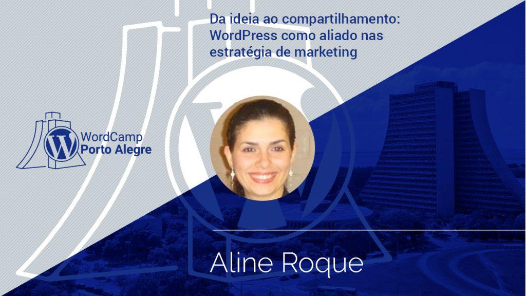 Palestra com Aline Roque
