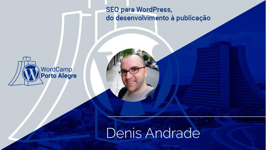 Palestra de SEO com Denis Andrade