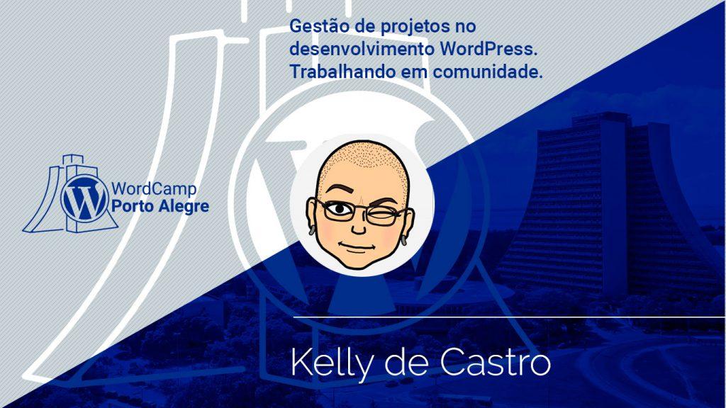 Palestr com Kelly Castro