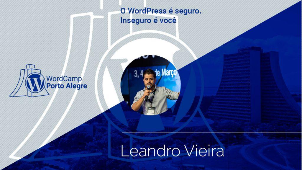 Palestra com Leandro Vieira