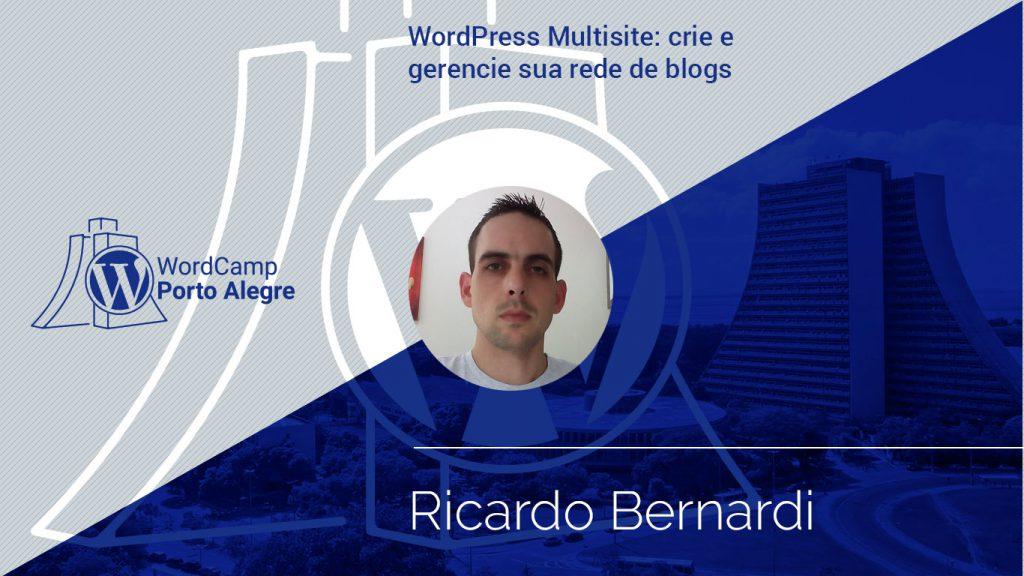 Palestra com Ricardo Bernardo