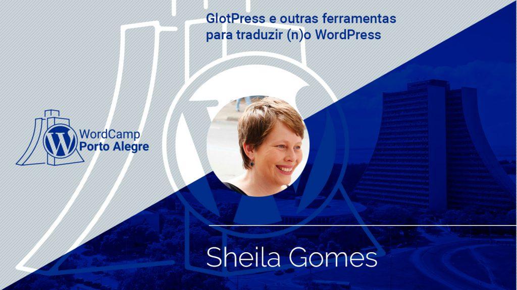 Palestra da Sheila Gomes